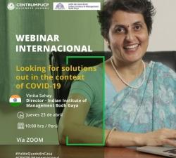 Webinars in association with CENTRUM PUCP Business School Peru
