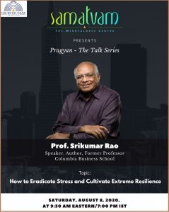 Pragyan Webinar by Prof. Srikumar Rao