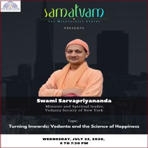 Address by Swami Sarvapriyananda