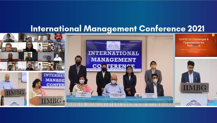 Internation Management Conference Apr 2021