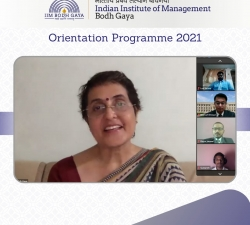 IIMBG-Orientation-2021-Batch6