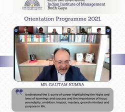 IIMBG-Orientation-2021-Batch7