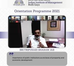 IIMBG-Orientation-2021-Batch8