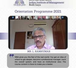IIMBG-Orientation-2021-Batch9