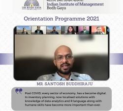 IIMBG-Orientation-2021-Batch10