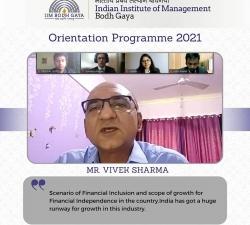 IIMBG-Orientation-2021-Batch11