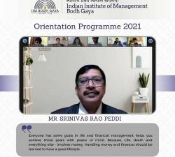 IIMBG-Orientation-2021-Batch19