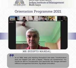 IIMBG-Orientation-2021-Batch20
