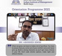 IIMBG-Orientation-2021-Batch25