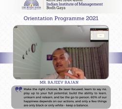 IIMBG-Orientation-2021-Batch26