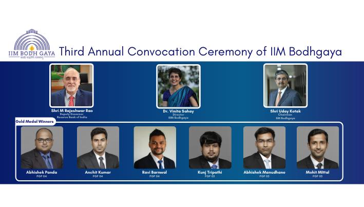 IIMBG 3rd Convocation-Medalist