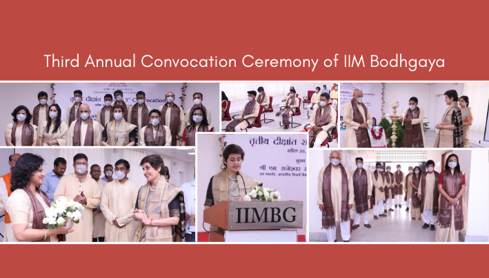 IIMBG 3rd Convocation