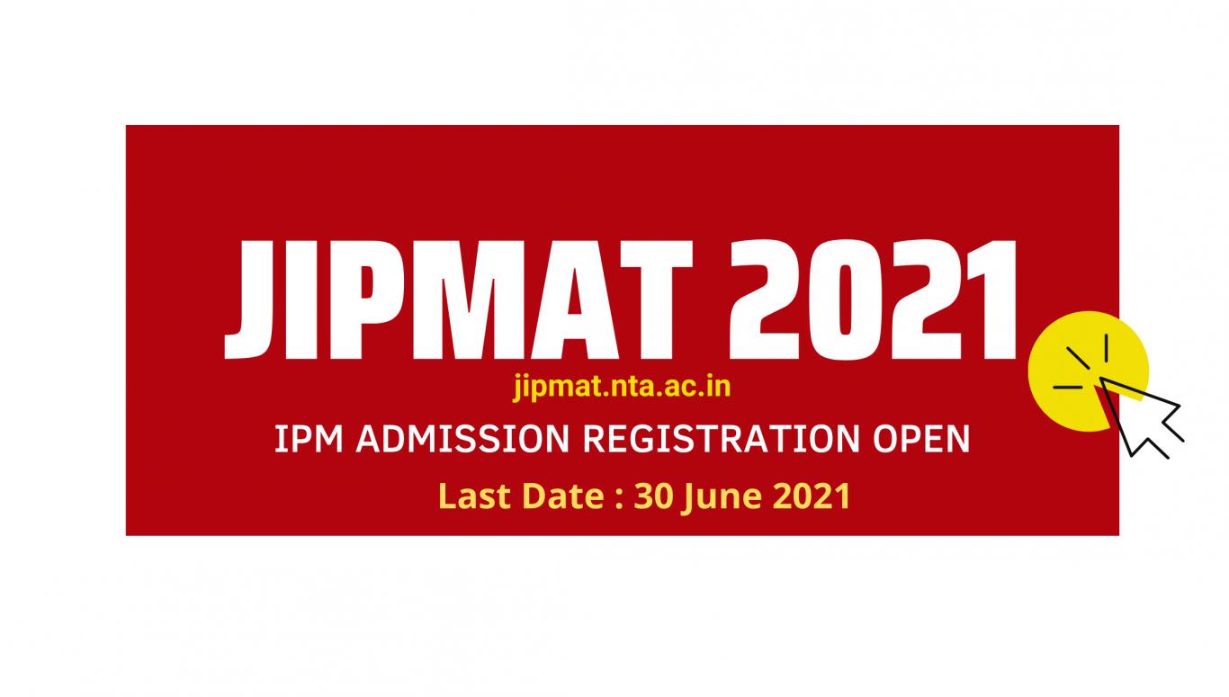 JIPMAT 2021 June 2021