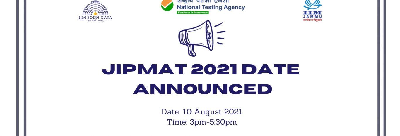 JIPMAT 2021 Date Announced