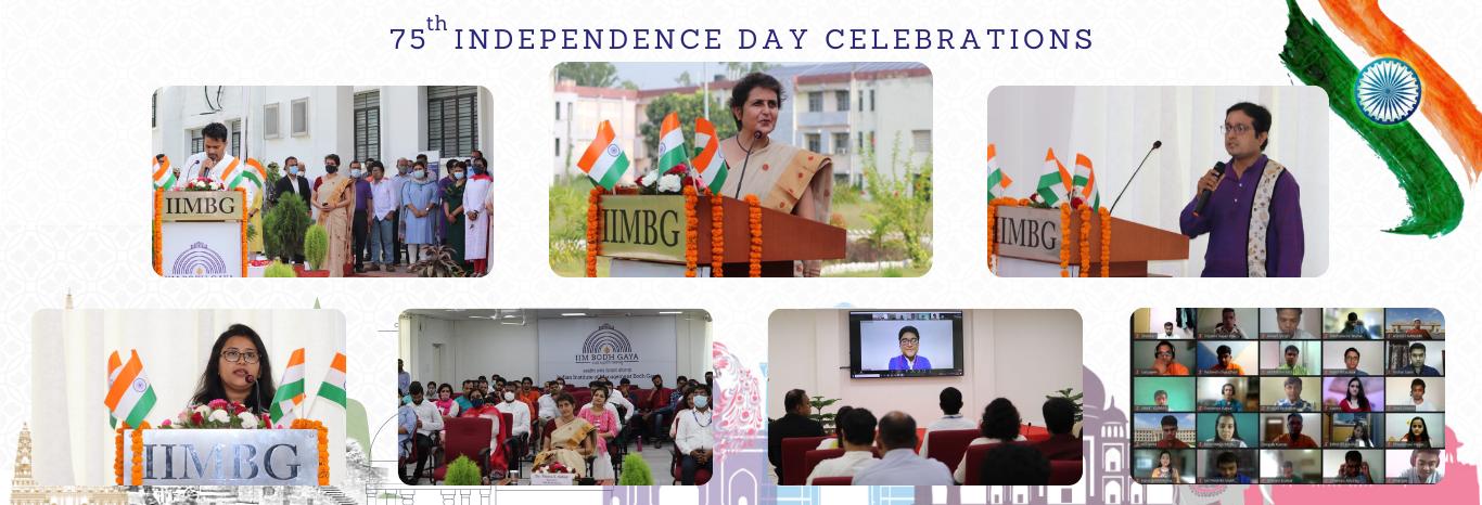 Independence Day 2021 Celebration at IIM Bodh Gaya