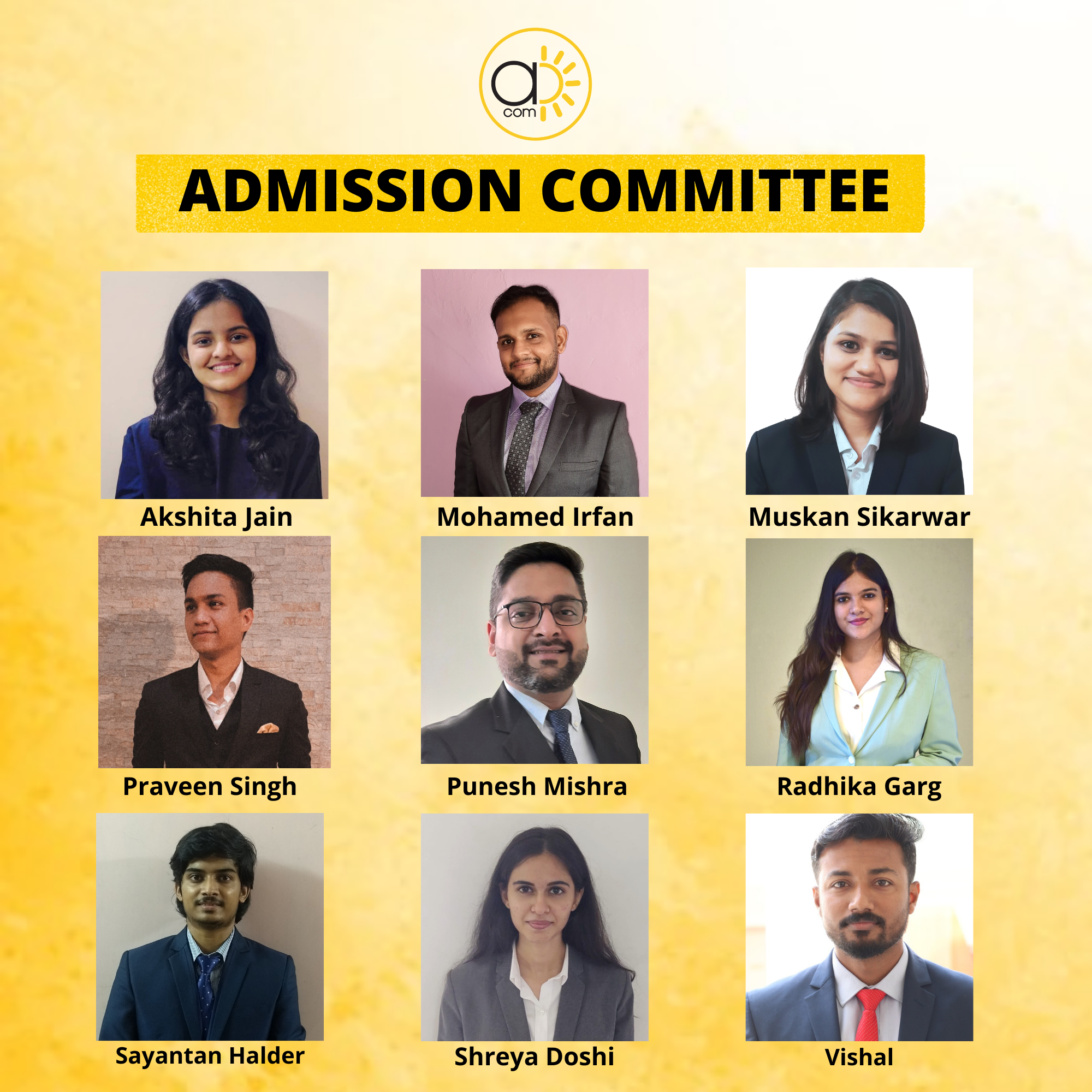 Admissions Committee