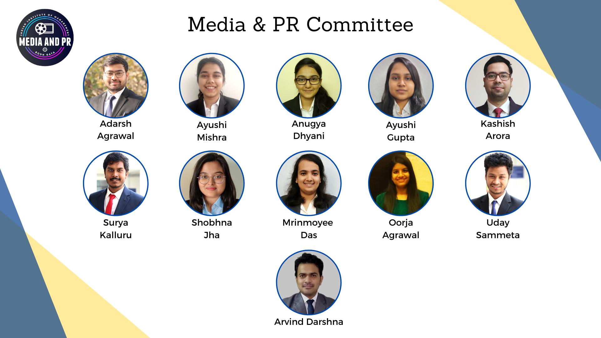 Media & PR Cell
